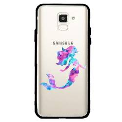 Coque transparente magnetique Samsung Galaxy J6 (2018) - J600 Sirene