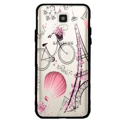 Coque transparente magnetique Samsung Galaxy J6 (2018) - J600 Paris mongolfiere