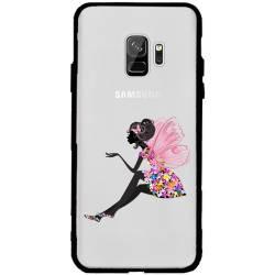 Coque transparente magnetique Samsung Galaxy J6 (2018) - J600 magique fee fleurie