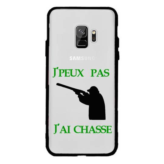 Coque transparente magnetique Samsung Galaxy J6 (2018) - J600 jpeux pas jai chasse