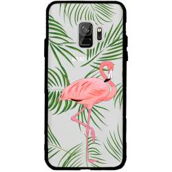 Coque transparente magnetique Samsung Galaxy J6 (2018) - J600 Flamant Rose