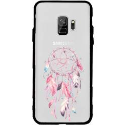 Coque transparente magnetique Samsung Galaxy J6 (2018) - J600 feminine attrape reve rose