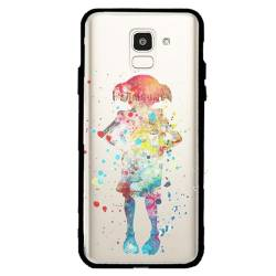 Coque transparente magnetique Samsung Galaxy J6 (2018) - J600 Dobby colore