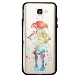 Coque transparente magnetique Samsung Galaxy J6 (2018) - J600 Dobby colore