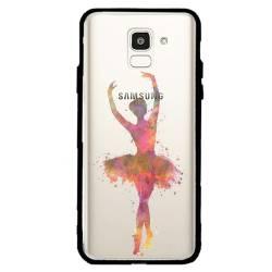 Coque transparente magnetique Samsung Galaxy J6 (2018) - J600 Danseuse etoile