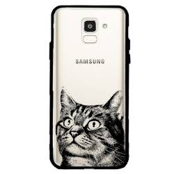 Coque transparente magnetique Samsung Galaxy J6 (2018) - J600 Chaton