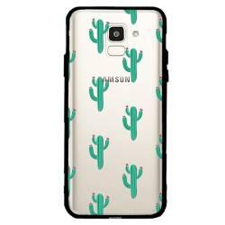 Coque transparente magnetique Samsung Galaxy J6 (2018) - J600 Cactus