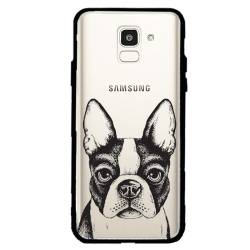 Coque transparente magnetique Samsung Galaxy J6 (2018) - J600 Bull dog