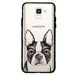 Coque transparente magnetique Samsung Galaxy J6 (2018) - J600 Bull dog