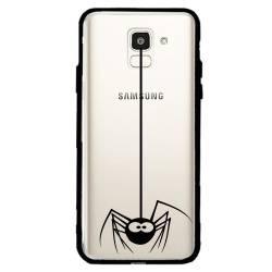Coque transparente magnetique Samsung Galaxy J6 (2018) - J600 Araignee
