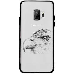 Coque transparente magnetique Samsung Galaxy J6 (2018) - J600 aigle