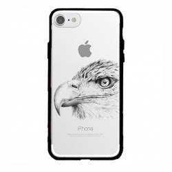 Coque transparente magnetique Apple Iphone 6 / 6s aigle