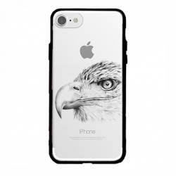 Coque transparente magnetique Apple Iphone 6 / 6s aigle