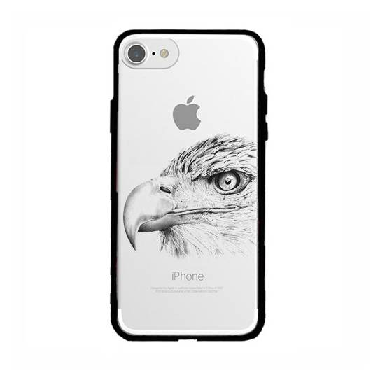 Coque transparente magnetique Iphone 6 / 6s aigle