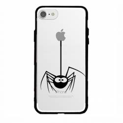 Coque transparente magnetique Apple Iphone 6 / 6s Araignee