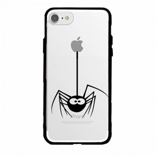Coque transparente magnetique Iphone 6 / 6s Araignee