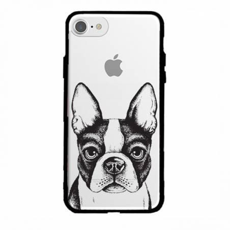 Coque transparente magnetique Apple Iphone 6 / 6s Bull dog