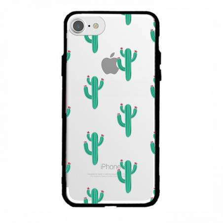 Coque transparente magnetique Apple Iphone 6 / 6s Cactus