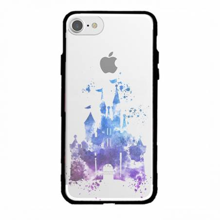 Coque transparente magnetique Apple Iphone 6 / 6s Chateau