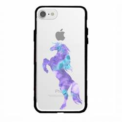 Coque transparente magnetique Iphone 6 / 6s Cheval Encre