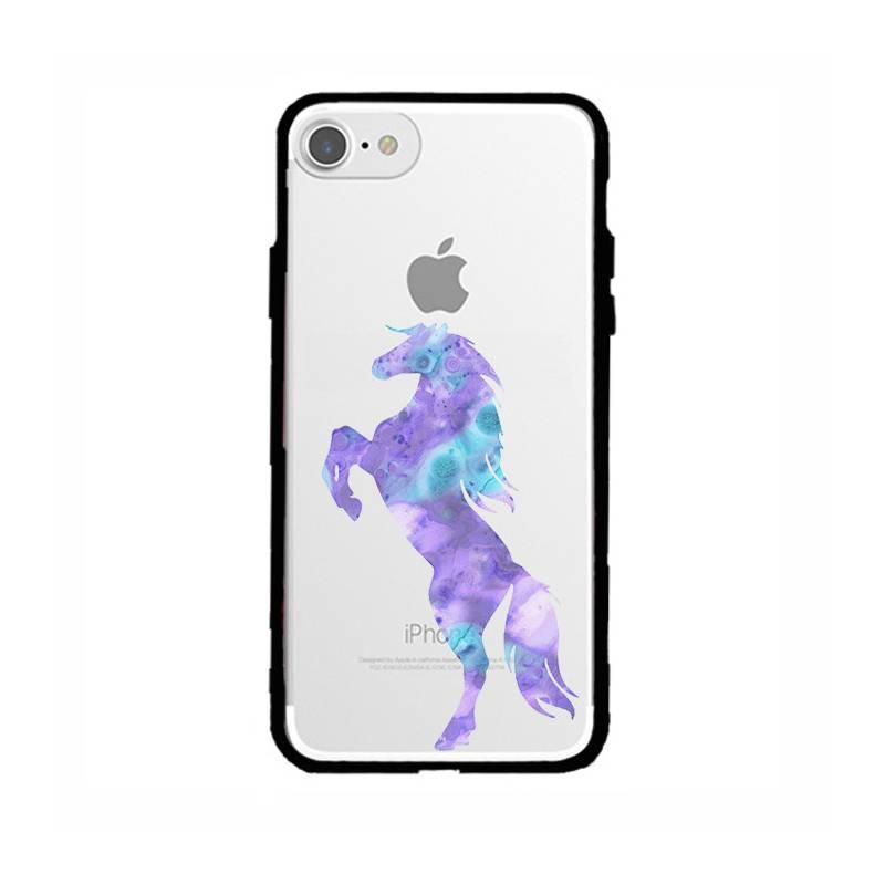 Coque transparente magnetique Apple Iphone 6 / 6s Cheval Encre