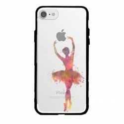 Coque transparente magnetique Apple Iphone 6 / 6s Danseuse etoile