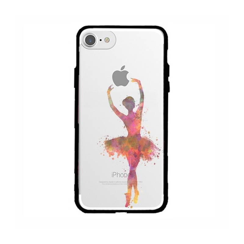 Coque transparente magnetique Apple Iphone 6 / 6s Danseuse etoile