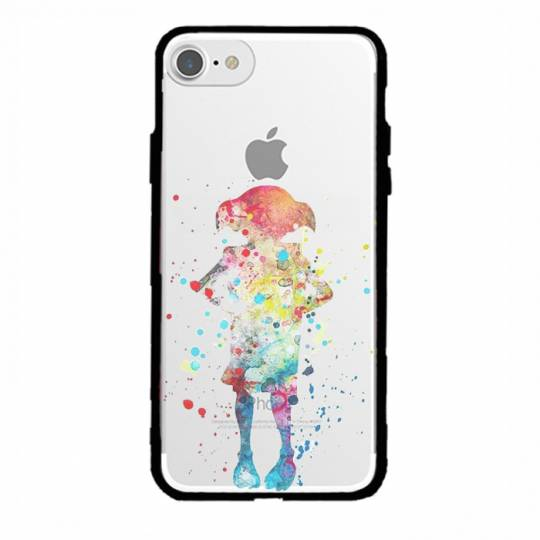 Coque transparente magnetique Iphone 6 / 6s Dobby colore