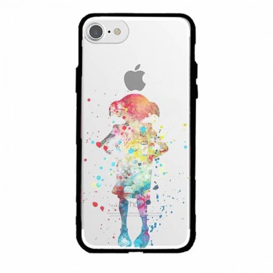 Coque transparente magnetique Iphone 6 / 6s Dobby colore