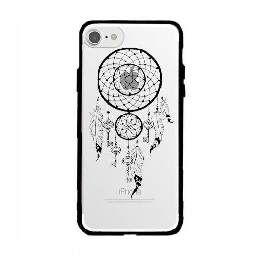 Coque transparente magnetique Apple Iphone 6 / 6s feminine attrape reve cle
