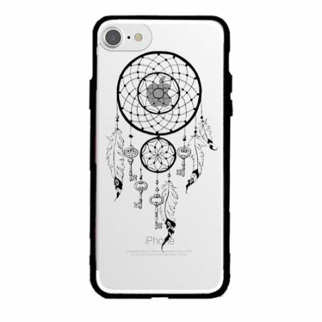 Coque transparente magnetique Apple Iphone 6 / 6s feminine attrape reve cle