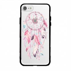 Coque transparente magnetique Apple Iphone 6 / 6s feminine attrape reve rose