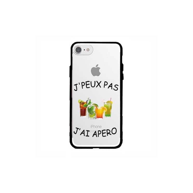Coque transparente magnetique Apple Iphone 6 / 6s jpeux pas jai apero