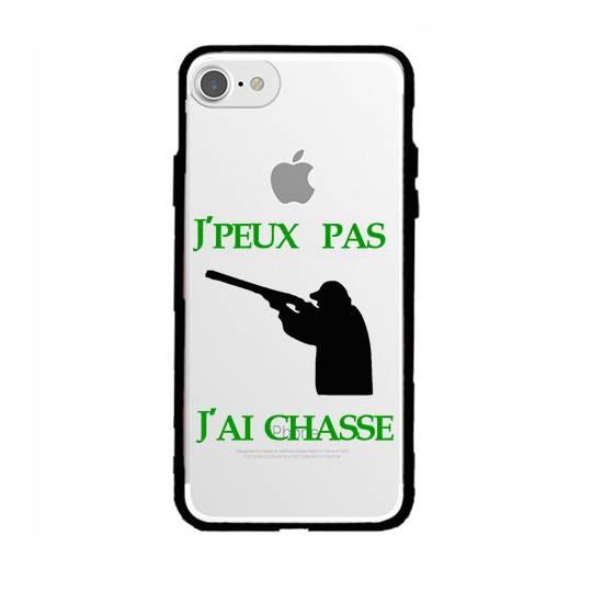 Coque transparente magnetique Apple Iphone 6 / 6s jpeux pas jai chasse