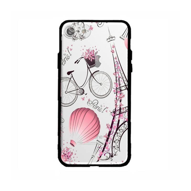 Coque transparente magnetique Iphone 6 / 6s Paris mongolfiere