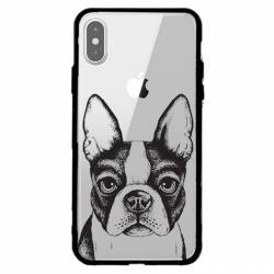 Coque transparente magnetique Apple Iphone X / XS Bull dog