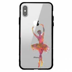 Coque transparente magnetique Apple Iphone X / XS Danseuse etoile