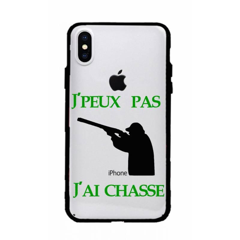 Coque transparente magnetique Iphone X / XS jpeux pas jai chasse
