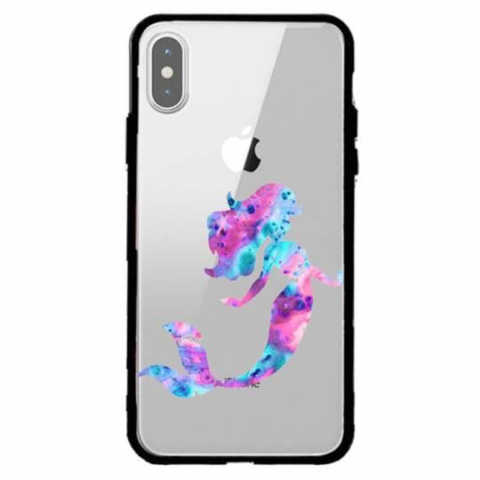 Coque transparente magnetique Iphone X / XS Sirene
