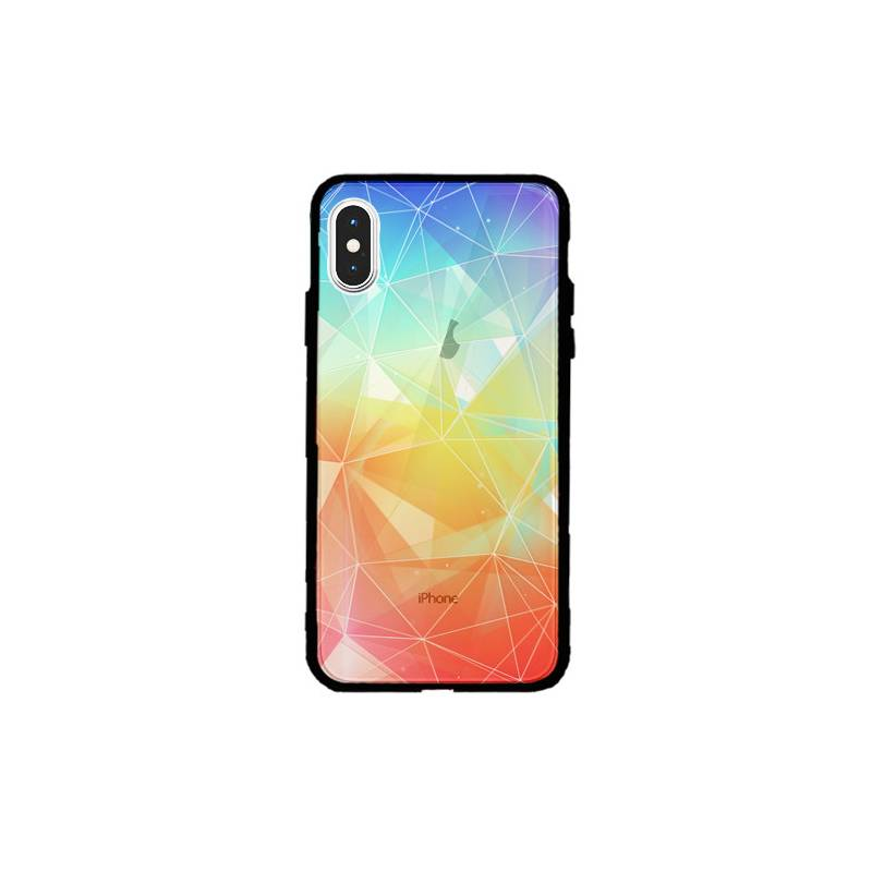 Coque transparente magnetique Iphone XS Max Origami