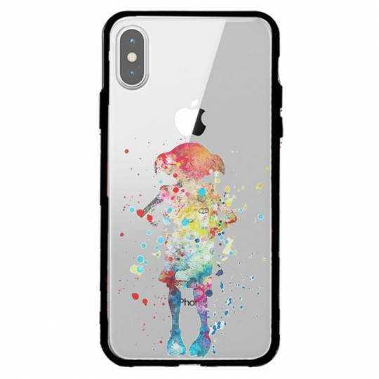 Coque transparente magnetique Iphone XS Max Dobby colore