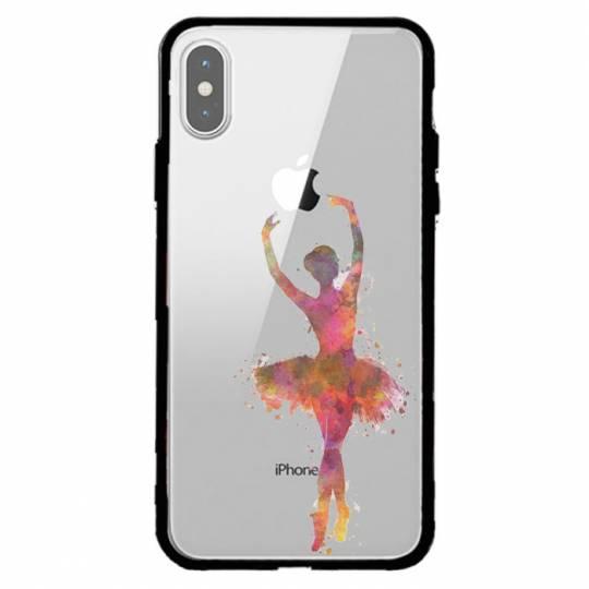 Coque transparente magnetique Iphone XS Max Danseuse etoile