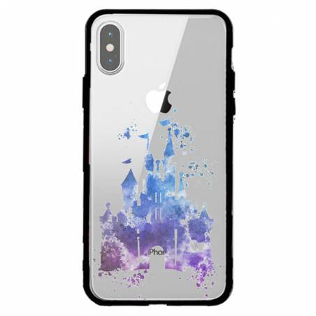 Coque transparente magnetique Apple Iphone XS Max Chateau