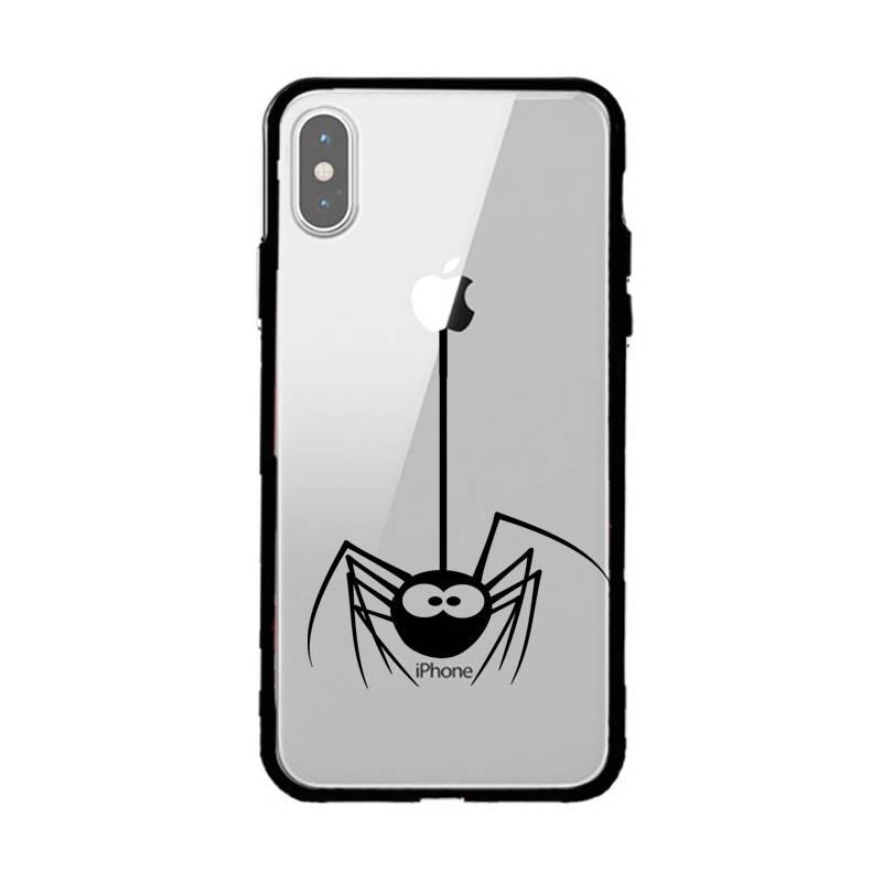 Coque transparente magnetique Iphone XS Max Araignee