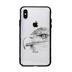Coque transparente magnetique Apple Iphone XS Max aigle