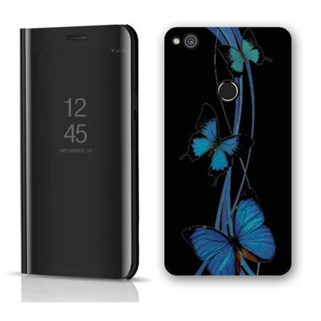 Housse miroir Huawei Y6 (2018) / Honor 7A papillons