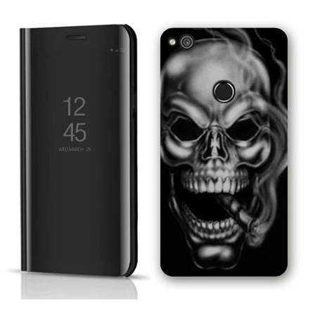 Housse miroir Huawei Y6 (2018) / Honor 7A tete de mort