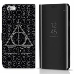 Housse miroir Huawei Y5 (2018) WB License harry potter pattern