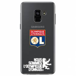 Coque transparente Samsung Galaxy J6 (2018) - J600 Licence Olympique Lyonnais - double face