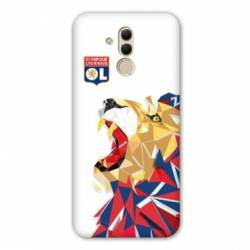 Coque Huawei Mate 20 Lite License Olympique Lyonnais OL - lion color
